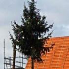 Een meiboom zetten is een oud gebruik