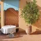 De (binnenhuis)architectuur bij een mediterraan klimaat