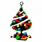 Weinig geld, toch een kerstboom!