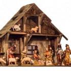 De kerststal, decoratie in de kersttijd