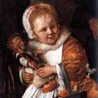 Het Sint Nicolaasfeest geschilderd door Jan Steen