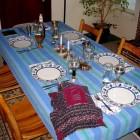 De Kidoesj aan het begin van de sjabbatsmaatijdviering