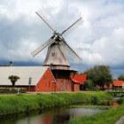 Bovenkruiers, veel voorkomende Nederlandse windmolens