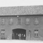 Gevangen vrouwen in concentratiekamp Vught
