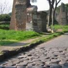 Wandelen of fietsen op de Via Appia te Rome