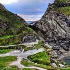 Koning Arthurs kasteel op Tintagel Island