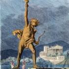 De Kolossus van Rhodos: Eén van de zeven wereldwonderen