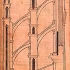 Het bouwen van kathedralen in de middeleeuwen