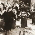 Joden in het getto van Warschau