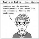 Antje & Betje, de stripzussen van Ameland
