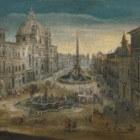 Prachige bouwwerken op het Piazza Navona
