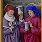 Boekverluchting vooral monnikenwerk in de middeleeuwen