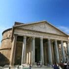 Het Pantheon, indrukwekkend voorbeeld van antieke bouwkunst
