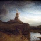 Rembrandt van Rijn, schilder van geïdealiseerde landschappen