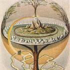 Noorse kosmologie, de wereldboom Yggdrasil