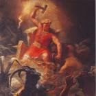 Thor of Donar, dondergod uit de Noorse mythologie