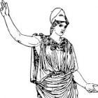 Pallas Athena, godin van wijsheid, de wetenschap en oorlog