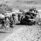 Ontstaan + oorzaken Palestijnse vluchtelingen probleem
