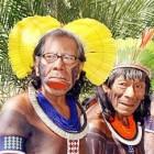 De verschillende stammen uit het Amazonegebied