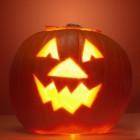 Halloween, griezelen in het donker