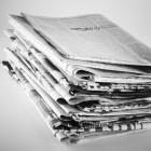 Dagbladzegel: belasting betalen om het lezen van kranten