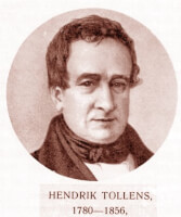 Hendrik Tollens / Bron: Unknown / Wikimedia Commons