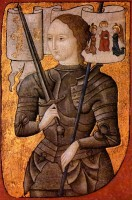 Jeanne d'Arc / Bron: Publiek domein, Wikimedia Commons (PD)