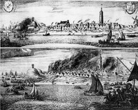 De brand van West-Terschelling / Bron: Harmen de Mayer (attribution), Wikimedia Commons (Publiek domein)