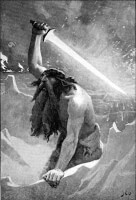 Surtr of Surt / Bron: John Charles Dollman, Wikimedia Commons (Publiek domein)