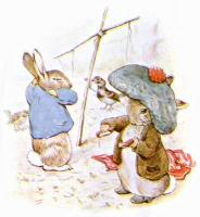 Bron: Beatrix Potter, Wikimedia Commons (Publiek domein)