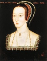 Anna Boleyn / Bron: National Portrait Gallery, Wikimedia Commons (Publiek domein)