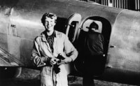 Amelia Earhart / Bron: Onbekend, Wikimedia Commons (Flickr Commons)