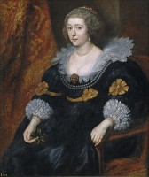 Willems moeder Amalia van Solms / Bron: Anthony van Dyck, Wikimedia Commons (Publiek domein)