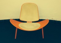 shell chair / Bron: Persbureau Ameland
