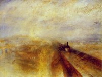 Rain, Steam, Speed (1844) / Bron: J. M. W. Turner, Wikimedia Commons (Publiek domein)