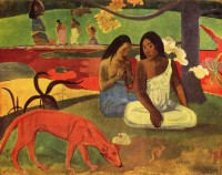 Arearea, 1892 / Bron: Paul Gauguin, Wikimedia Commons (Publiek domein)