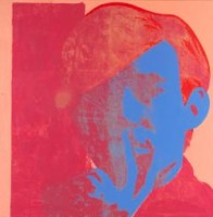 Zelfportret Andy Warhol / Bron: Tate Gallery