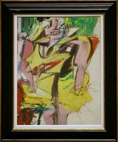 Woman, Willem de Kooning (1953) / Bron: Cliff1066™, Flickr (CC BY-2.0)
