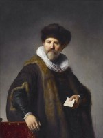 Nicolaes Ruts / Bron: Rembrandt, Wikimedia Commons (Publiek domein)