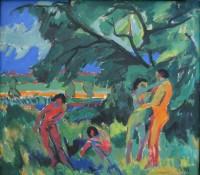 Bron: Ernst Ludwig Kirchner, Wikimedia Commons (Publiek domein)