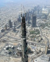 Burj Khalifa (in aanbouw) / Bron: Imre Solt, Wikimedia Commons (CC BY-SA-3.0)