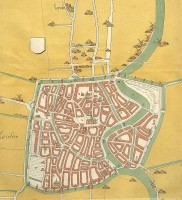 Haarlem 1550 / Bron: Publiek domein, Wikimedia Commons (PD)