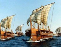 Replica Griekse galei / Bron: Publiek domein, Wikimedia Commons (PD)