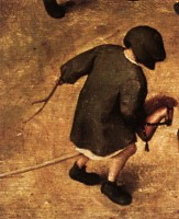 stokpaardje / Bron: Pieter Brueghel the Elder, Wikimedia Commons (Publiek domein)
